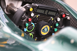 Team Lotus steering wheel