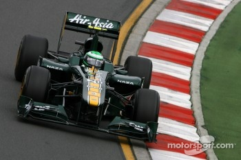 15th position for Heikki Kovalainen