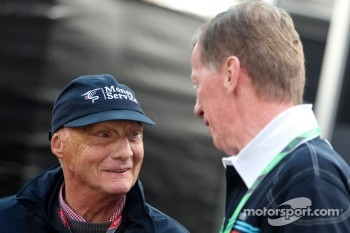 Niki Lauda and Walter Rohrl