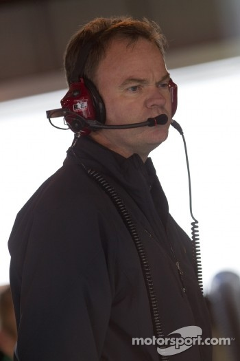 Lance McGrew, crew chief for Mark Martin, Hendrick Motorsports Chevrolet