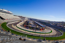 Morning ambiance at Martinsville Speedway