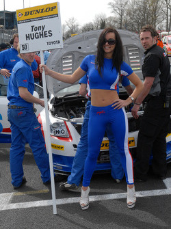 Tony Hughes' Grid Girl