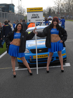 Chris James' Grid Girls