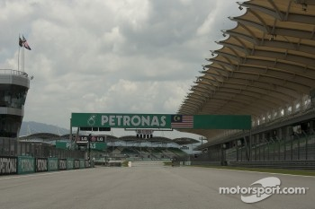 Main Straight of Sepang Circuit