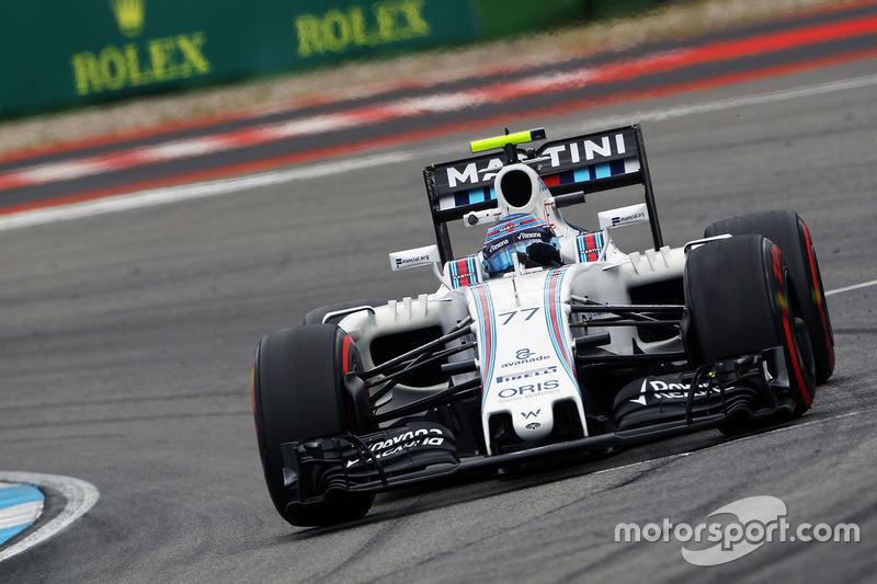 7. Valtteri Bottas, Williams FW38