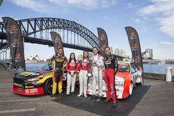 Bathurst 1000 launch at  Luna Park Sydney