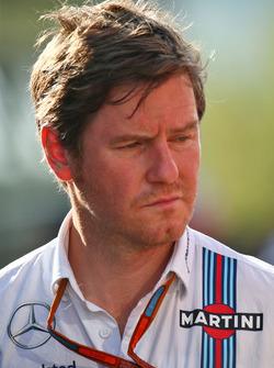 Rob Smedley, Williams Chef Fahrzeugperformance