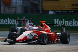 Jack Aitken, Arden International leads Charles Leclerc, ART Grand Prix