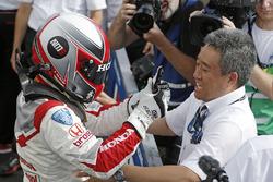 Winner Norbert Michelisz, Honda Racing Team JAS, Honda Civic WTCC