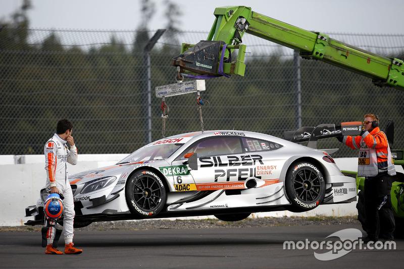 Für Mercedes läuft derweil sowohl im Training ...