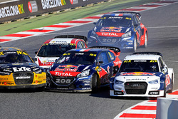 Sébastien Loeb, Team Peugeot Hansen and Mattias Ekström, EKS RX