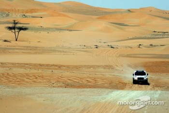 The stunning landscape of the Empty Quarter