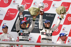 Winner #38 Marc Basseng, Markus Winkelhock; Lamborghini Murcielago 670 R-SV; All-Inkl.com Munnich Motorsport