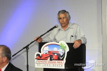 Grand Prix President Jim Michaleian