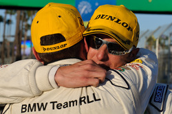 GT class winners Dirk Müller and Joey Hand