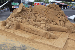 Sand Sculpture at theVisitMyrtleBeachcom NHRA Four-Wide Nationals