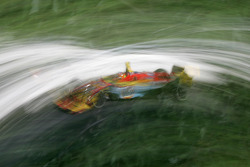 Artistic impression of Andrew Ranger at speed