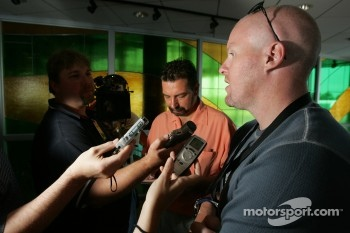 Pre-event press conference: Paul Tracy