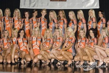 Miss Indy 2005: family picture