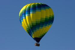 Hot air balloon over Sears Point