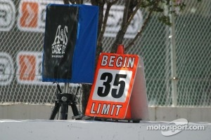 Pit lane has a 35 mph speed limit