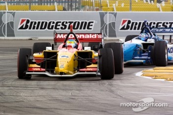 Sbastien Bourdais and Paul Tracy
