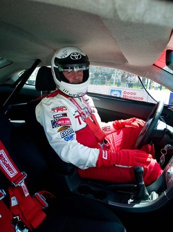 Off-road racer Jeff Kincaid