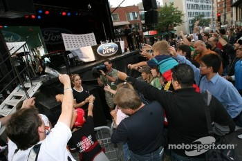 Ford Racing Festival on Crescent street: fans get free tickets for the race