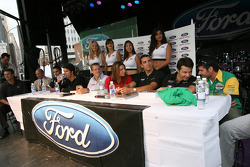 Ford Racing Festival on Crescent street: Champ Car drivers