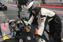 CTE Racing HVM crew member at work
