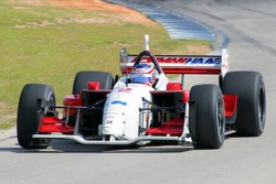 Graham Rahal tests a Champ Car for Newman Haas Racing