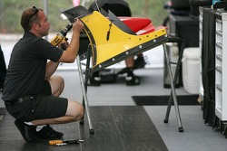 Front wing preparation