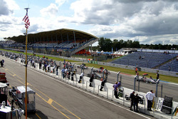 Line-up for a Saturday support race, the German F3 championship
