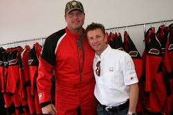 Roger Clemens and Allan McNish
