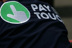 Pay by Touch logo detail