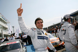 Race winner Bruno Spengler, Team HWA AMG Mercedes
