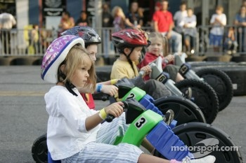 Jackson RaceWeek Festival: young fans