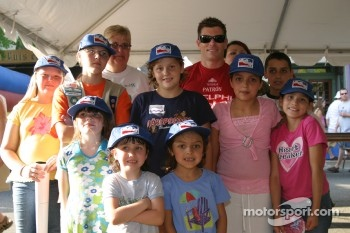 Fans with Scott Sharp