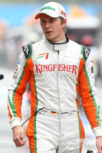 Nico Hulkenberg, Test Driver, Force India