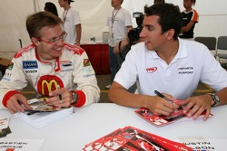 Sébastien Bourdais and Justin Wilson
