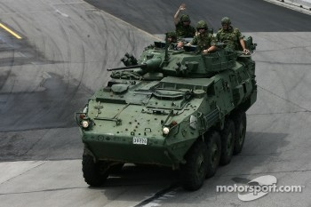 Canadian Army parade