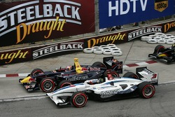 Start: Neel Jani and Paul Tracy battle