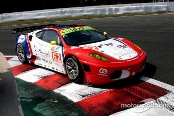 #62 CRS Racing Ferrari F430: Pierre Ehret, Shaun Lynn