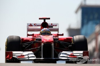 Finally podium finish For Fernando Alonso