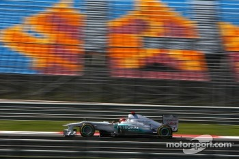 Michael Schumacher, Mercedes GP F1 Team, MGP W02