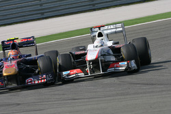 Jaime Alguersuari, Scuderia Toro Rosso and Kamui Kobayashi, Sauber F1 Team