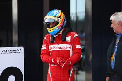 Third place: Fernando Alonso, Scuderia Ferrari