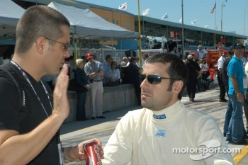 Gil de Ferran and Dario Franchitti