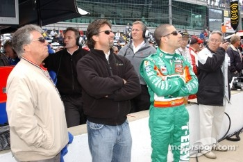 Mario Andretti, Michael Andretti and Tony Kanaan
