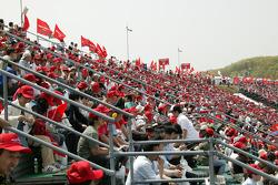 Fans at Motegi